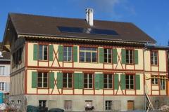 Bernstrasse 9 Gewerbebau 1859, denkmalgeschützte Liegenschaft