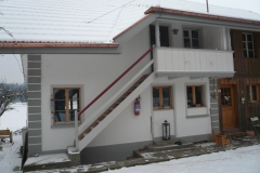 Fassadenrenovation Rebberg bei Lysach