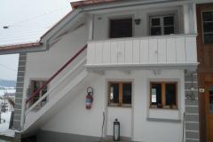 Fassadenrenovation Silikatfarbe, Ölfarbe Rebberg bei Lyssach